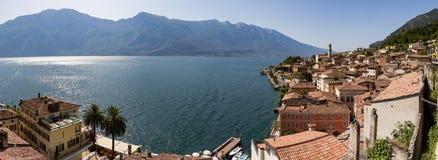 Ansicht von Limone-sul Garda Lizenzfreie Stockfotografie