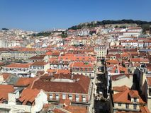 Ansicht von Lissabon Lizenzfreies Stockbild