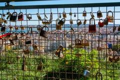 Ansicht von Lissabon Portugal Stockbild