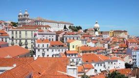 Ansicht von Lissabon, Portugal stock footage