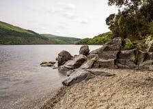 Ansicht von Loch Lomond Lizenzfreie Stockfotos