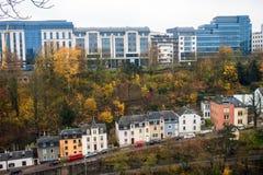 Ansicht von Luxemburg Lizenzfreies Stockfoto
