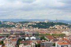 Ansicht von Lyon Lizenzfreies Stockfoto
