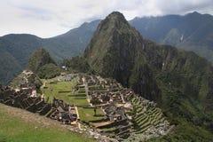 Ansicht von Machu Picchu Stockfotos