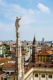Ansicht von Mailand Lizenzfreie Stockfotos