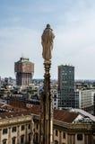 Ansicht von Mailand Stockbild