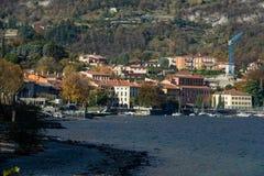 Ansicht von Malgrate Stockbilder