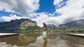 Ansicht von Malgrate Stockfotografie