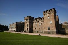 Ansicht von Mantua-Schloss, Italien Stockbild