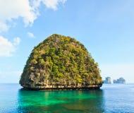 Ansicht von Maya Bay, Thailand Lizenzfreie Stockbilder