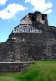 Ansicht von Mayaruinen Stockbilder