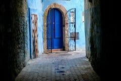 Ansicht von Medina von essaoiura Marokko, Foto als Hintergrund stockfoto