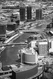Ansicht von Melbourne-Stadt lizenzfreies stockbild