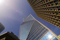 Ansicht von modernen Gebäuden in Paris Die goldene Taste oder Erreichen f?r den Himmel zum Eigenheimbesitze Stockfoto