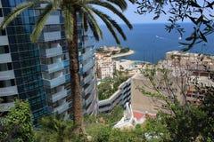 Ansicht von Monaco Stockfoto