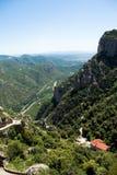 Ansicht von Montserrat Lizenzfreies Stockfoto