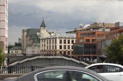 Ansicht von Moskau Stockfotos