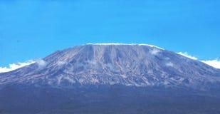 Ansicht von Mt Kilimanjaro für Hintergrundgebrauch stockbild