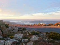 Ansicht von Mt Wellington lizenzfreies stockfoto