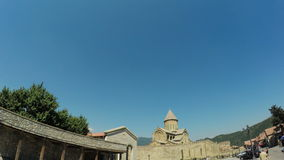 Ansicht von Mtskheta Georgia stock footage