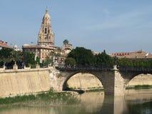 Ansicht von Murcia, Spanien Lizenzfreies Stockbild