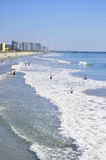 Ansicht von Myrtle Beach South Carolina Stockfotografie