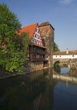 Ansicht von Nürnberg im Bayern Lizenzfreie Stockfotos