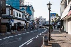 Ansicht von Narita-San Omotesando Stockbilder