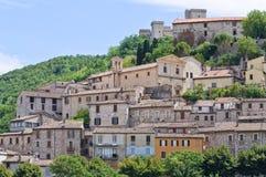 Ansicht von Narni. Umbrien. Italien. Stockbilder