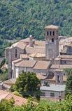 Ansicht von Narni. Umbrien. Italien. Lizenzfreie Stockbilder