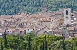 Ansicht von Narni. Umbrien. Italien. Lizenzfreie Stockfotos