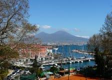 Ansicht von Neapel Stockbilder