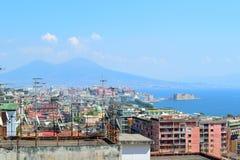 Ansicht von Neapel Stockfotos
