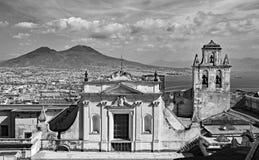 Ansicht von Neapel Stockfotografie