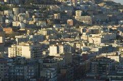 Ansicht von Neapel, Italien stockbilder