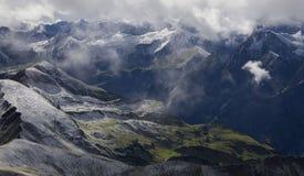 Ansicht von Nebelhorn Stockfoto
