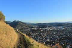 Ansicht von Nelson New Zealand Lizenzfreies Stockfoto
