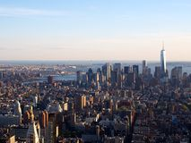 Ansicht von New York City Stockfoto