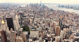 Ansicht von New York City stockbild