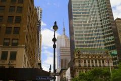 Ansicht von New York City, USA Stockfotografie