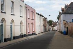 Ansicht von Northgate, Beccles, Suffolk, Großbritannien stockbilder