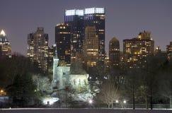 Ansicht von NYC von Central Park Stockbilder