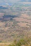 Ansicht von oben, landwirtschaftliche Dürre Lizenzfreie Stockfotografie