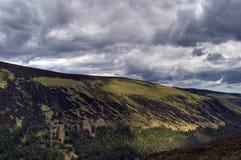 Ansicht von oberem See. Irland Stockbild