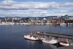 Ansicht von Oslo Lizenzfreies Stockbild
