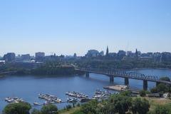 Ansicht von Ottawa Stockfotografie