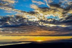 Ansicht von Ozean Lizenzfreies Stockbild