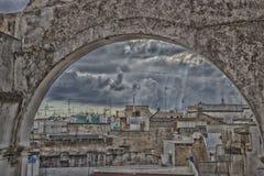 Ansicht von Palast Doxi Stracca Fontana in Gallipoli (Le) Lizenzfreie Stockfotografie