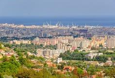 Ansicht von Palermo - Monreale Lizenzfreie Stockbilder
