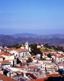 Ansicht von Pano Lefkara, Zypern. Stockfoto